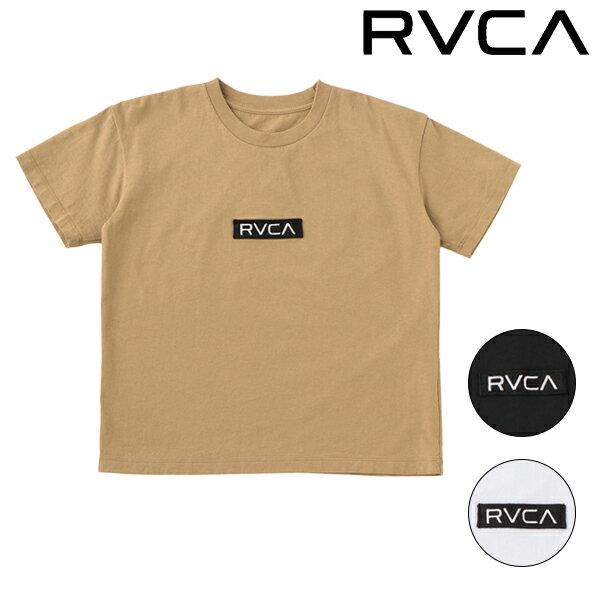 ジュニア 半袖 Tシャツ RVCA ルーカ AJ045-204 130cm〜160cm GG1 D12