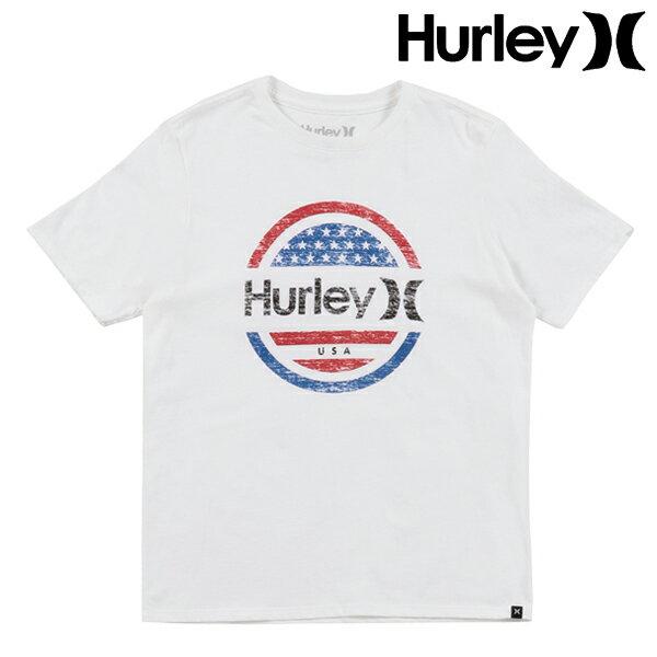 キッズ ジュニア 半袖 Tシャツ Hurley ハーレー CD0674 S〜L GG2 E13
