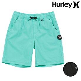 キッズ ジュニア ショートパンツ 水着 海水パンツ トランクス Hurley ハーレー CD0237 S〜L GG2 E13
