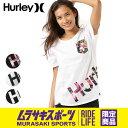 レディース 半袖 Tシャツ トップス Hurley ハーレー GTSOAGDT8 ムラサキスポーツ限定 胸ポケット ポケT FF2 C23