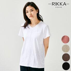 RIKKA FEMME リッカファム R20S002 レディース 半袖 Tシャツ HH1 C20