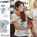 送料無料 【数量限定】レディース 半袖 Tシャツ roial ロイアル CO19G EE2 D5