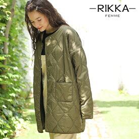 RIKKA FEMME リッカファム レディース キルティング ジャケット R19W1103 GG3 K5