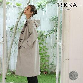 RIKKA FEMME リッカファム レディース ジャケット ダッフルコート R19W1105 GG3 K5