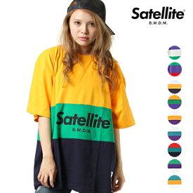 Satellite サテライト 3TONE MIX T-SHIRTS 3トーンミックス レディース 半袖 Tシャツ GG2 A11【返品不可】