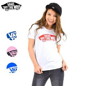 レディース 半袖 Tシャツ VANS バンズ VA17SS-GT12 ロゴ ストリート スケート 定番 正規品 FF C8 【返品不可】
