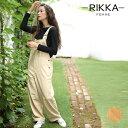 RIKKA FEMME リッカファム レディース オーバーオール ロングパンツ R19W1125 GG3 K5