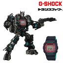 時計 G-SHOCK ジーショック × TRANSFORMERS トランスフォーマー DW-5600TF19-SET マスターネメシスプライム 35周年コラボ GG L7 MM