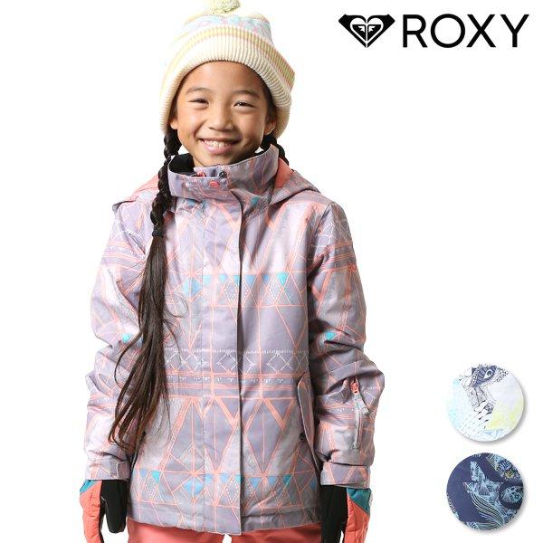 送料無料 スノーボード ウェア ジャケット ROXY ロキシー ERGTJ03058 ROXY JETTY GIRL JK 130cm〜150cm 18-19モデル キッズ ジュニア FX K21