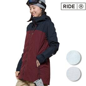スノーボード ウェア ジャケット RIDE ライド BRIGHTON JACKET 18-19モデル レディース FF K12【返品不可】
