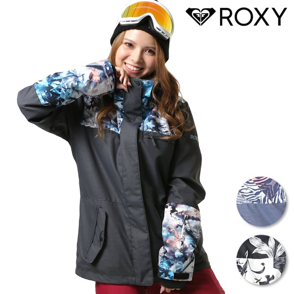 送料無料 スノーボード ウェア ジャケット ROXY ロキシー ERJTJ03178 JETTY BLOCK NP JACKET 18-19モデル レディース FX J2