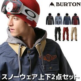 ★送料無料 2点セット スノーボード ウェア ジャケット パンツ 上下 BURTON バートン DUNMORE JK × GREENLIGHT PT 18-19モデル メンズ FF L17