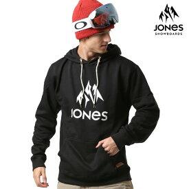 送料無料 スノーボード パーカー JONES ジョーンズ Truckee Hoody 69118422 18-19モデル メンズ インナー プルオーバー FF J30
