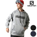 スノーボード パーカー SALOMON サロモン MOUNTAIN LIFE HOODY 18-19モデル メンズ インナー プルオーバー FF J30
