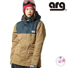 スノーボード ウェア ジャケット arg エーアールジー ARJ9003 19-20モデル レディース GX K9