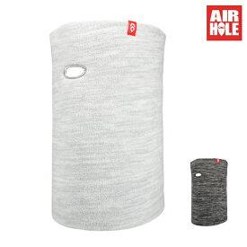 フェイスマスク AIRHOLE エアホール AIRTUBE MICROFLEECE HEATHER 1182011708 20-21モデル スノーボード HX L1