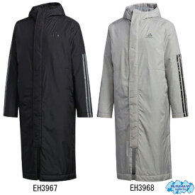 アディダス adidas gdt81 BOS Long 3-Stripes Parka ロングコート  [adidas・ベンチコート]