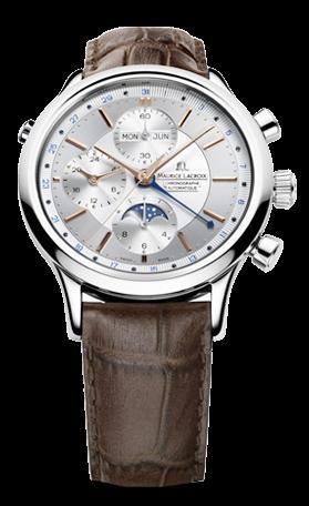 腕時計メンズ モーリス・ラクロアMaurice Lacroix LC6078-SS001-131レ・クラシック・ムーンフェイズ・クロノグラフ腕時計メンズ [メーカー保証付 ] 【smtb-ms】 ギフト プレゼント クリスマス 誕生日 記念日 贈り物