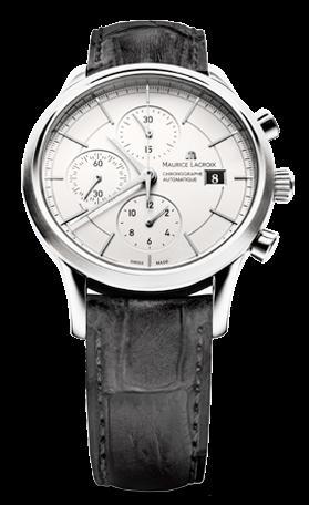 腕時計メンズ モーリス・ラクロアMaurice Lacroix レ・クラシック クロノグラフ オートマティックLC6058-SS001-130 腕時計メンズ [メーカー保証付 ] 【smtb-ms】 ギフト プレゼント クリスマス 誕生日 記念日 贈り物