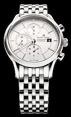 腕時計メンズ モーリス・ラクロアMaurice Lacroix レ・クラシック クロノグラフ オートマティック LC6058-SS002-130腕時計メンズ [メーカー保証付 ] 【smtb-ms】 ギフト プレゼント クリスマス 誕生日 記念日 贈り物