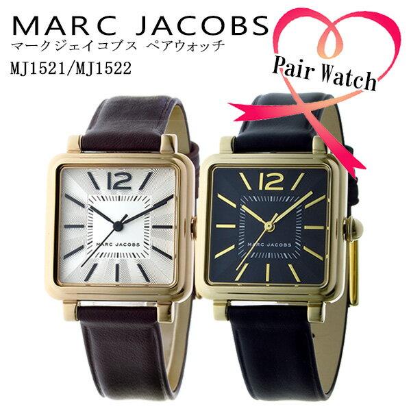マーク ジェイコブス MARC JACOBS ペアウォッチ ヴィク 腕時計 MJ1521-MJ1522 ホワイト/ブラック 代引き手数料無料 ギフト プレゼント クリスマス 誕生日 記念日 贈り物 人気 おしゃれ ペア 祝い セール 結婚式 お呼ばれ