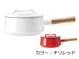 DANSK/ダンスク 【Kobenstyle Enamel/コベンスタイル】片手鍋/18cm チリレッド