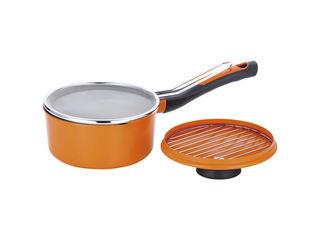 和平フレイズ オレンジページスタイル お弁当用ちょこっと揚げ鍋16cm  OPS-128