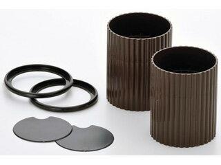 ISHIMARU/石丸合成樹脂 H-2808 ハイヒールプラス サークル チョコレートブラウン2個組
