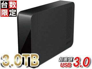 バッファロー USB3.1(Gen1)/USB3.0対応外付けハードディスク 3TB 縦置き・横置き両対応 HD-NRLC3.0-B 単品購入のみ可(取引先倉庫からの出荷のため) 【クレジットカード決済、代金引換決済のみ】