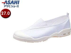 ASAHI/アサヒシューズ KD38571 アサヒドライスクール008EC【27.0cm・2E】 (ホワイト)