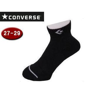 【nightsale】 CONVERSE/コンバース CB102002-1915 ジャンプアップソックス 【27-29cm】 (ブラック×グレー)