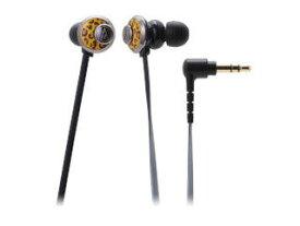 audio-technica/オーディオテクニカ インナーイヤーヘッドホン レオパード ATH-CKF77 LP