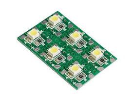 エレキット チップ部品はんだ付け練習キット【白色LED】 LK-ST1