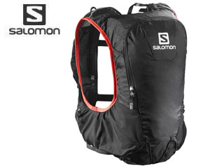 【nightsale】 SALOMON/サロモン L37996800 SKIN PRO 10 SET 【フリーサイズ】(BLACK/BRIGHT RED)