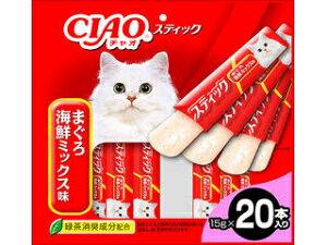 いなばペットフード 株式会社 CIAO スティック まぐろ 海鮮ミックス味 15g×20本