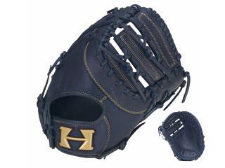 【nightsale】 HI-GOLD/ハイゴールド RKG-188F 少年一塁手用軟式ミット ルーキーズ (ネイビー) 【左投げ用】