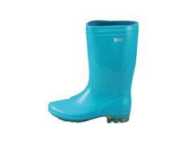 Achilles/アキレス 長靴 タフテックホワイト62(透明底)ブルー 24cm