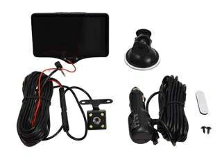THANKO/サンコー 前も車内もリアカメラも!3カメラ同時録画ドライブレコーダー THACAM3D