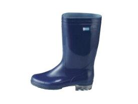 Achilles/アキレス 長靴 タフテックホワイト62(透明底)ブルー 25cm