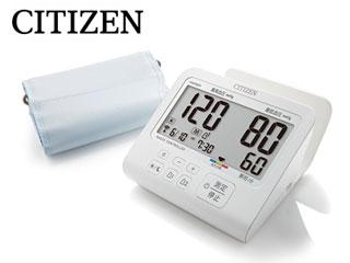 【nightsale】 CITIZEN/シチズン CHUR901 上腕式電子血圧計 電波時計機能搭載モデル 【ACアダプター付き】
