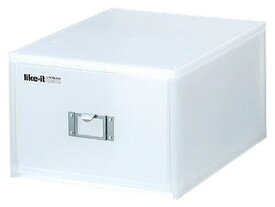 Yoshikawakuni/吉川国工業所 【like-it/ライクイット】LM-40 ライフモデュール DVDファイルユニット 【ホワイト】 【dvdcase】