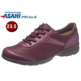 ASAHI/アサヒシューズ KS23561 快歩主義 L140AC アクティブシリーズ レディースシューズ 【23.5cm・3E】 (ワイン)