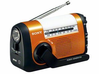 【納期にお時間がかかります】 SONY/ソニー ICF-B09-D(オレンジ) FM/AMポータブルラジオ