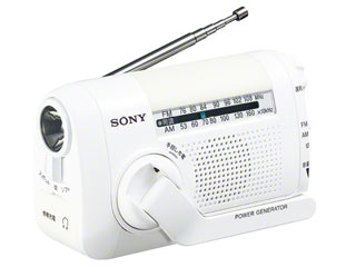 【納期にお時間がかかります】 SONY/ソニー ICF-B09-W(ホワイト) FM/AMポータブルラジオ