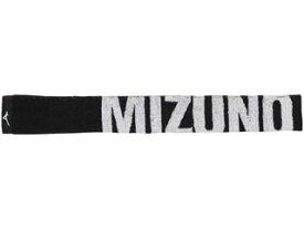 mizuno/ミズノ スリムマフラータオル 保冷剤ポケット付き ブラック 32JY0131-09