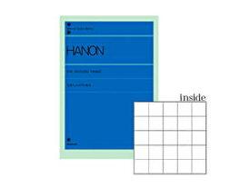 NAKANO/ナカノ ピアノライブラリーポケットノート ハノン GZO-18P/H