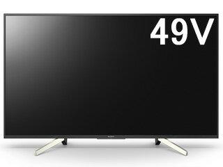 KJ-49X7500F49V型4K液晶テレビBRAVIA/ブラビア
