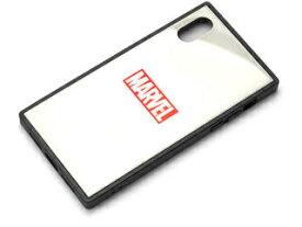 PGA iPhone XS/X用 ガラスハイブリッドケース [ロゴ/ホワイト] PG-DCS611WH