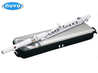 NUVO/ヌーボ 【FGSFWHT】 Student Flute スチューデントフルート (ホワイト) 【国内正規品】【KYNUVO】