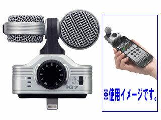 ZOOM/ズーム IQ7 MSステレオコンデンサーマイク 【iPhone/iPad/iPod touchに対応】